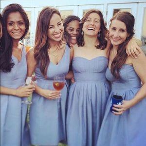 Strapless J Crew dress